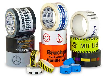 Packaging Applications, Printed Packaging Tapes